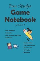 Game notebook for kids 4-8