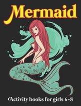 Mermaid Activity Books for girls 6-8