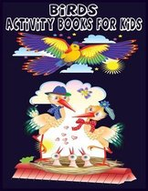 Activity Books Birds For Kids