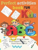 Perfect activities book fun for kids