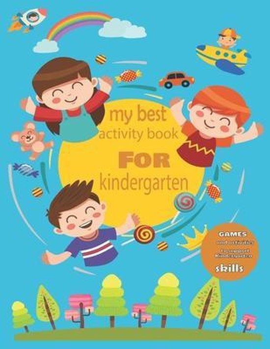 My best activity book for kindergarten