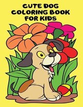 cute dog coloring book for kids