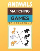 Animals Matching Games For Kids Ages 4-8