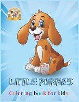 little Puppies coloring book for kids 4-8