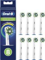 Oral-B CrossAction Opzetborstel - 8 Stuks