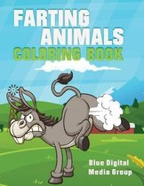 Farting Animal Coloring Book