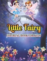 Little Fairy Coloring Book For Kids