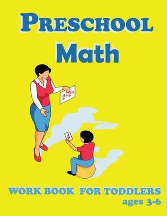 preschool math workbook for toddlers ages 3-6
