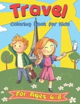 Travel Coloring Book for Kids