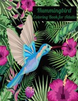 Hummingbird Coloring Book for Adult