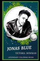Jonas Blue Legendary Coloring Book