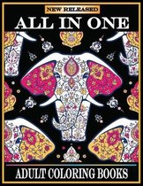 All in One Adult Coloring Books