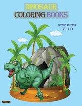 Dinosaur coloring books for kids 2-10