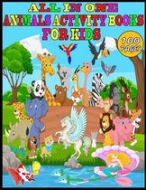 All in One Animals Activity Books For Kids