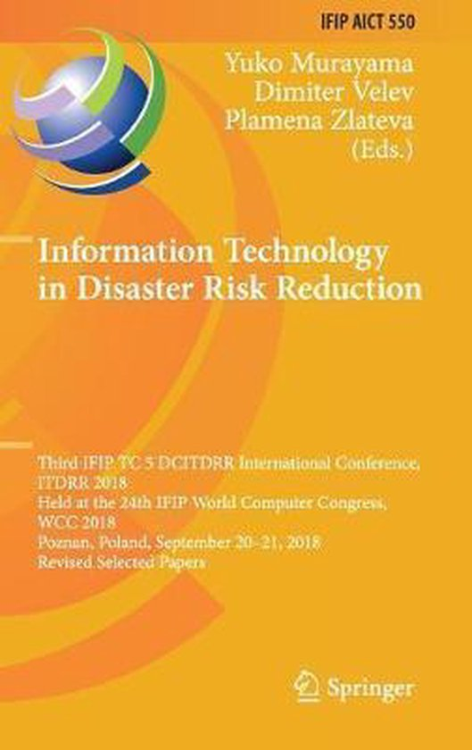 Information Technology in Disaster Risk Reduction