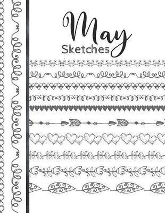 May Sketches: Astrology Sketchbook Activity Book Gift For Women & Girls - Daily Sketchpad To Draw And Sketch In As The Stars And Pla