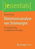 Dimensionsanalyse Von Stroemungen