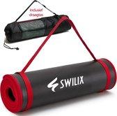 Swilix Yoga Mat / Fitness Mat - Incl. Draagriem En