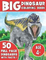 The Big Dinosaur Coloring Book