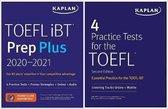 Boek cover TOEFL Prep Set van Kaplan Test Prep