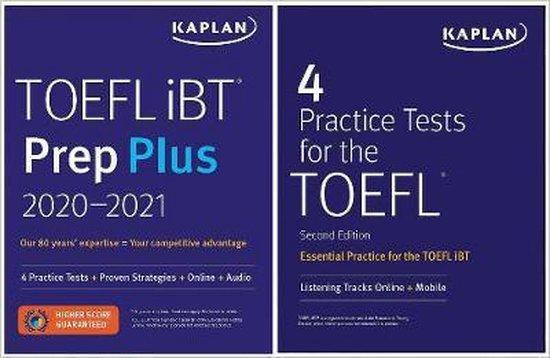 Boek cover TOEFL Prep Set van Kaplan Test Prep (Paperback)
