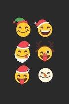 Christmas Emojis Notebook