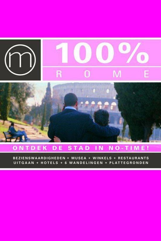 Cover van het boek '100% Rome' van S. Buhr