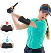 Swingz® Golf swing corrector - Golf swing trainer - Golf Accessoires - Trainingsmiddel voor de perfecte slag bij golf - Zwart