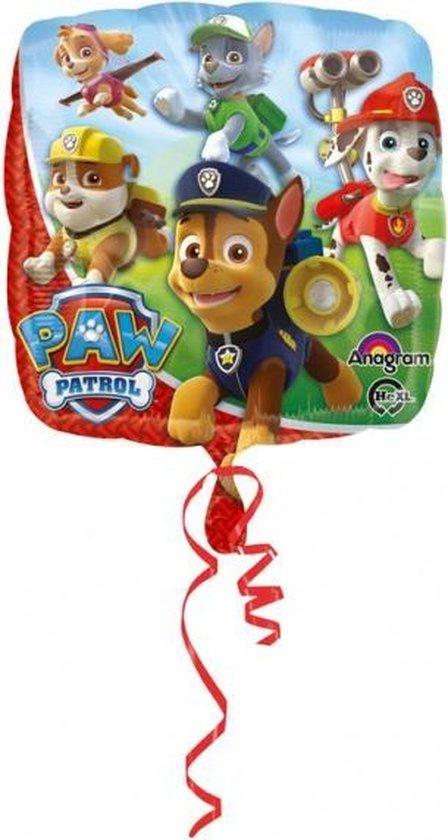 Folat - Folieballon - Paw Patrol - Zonder vulling - 43cm