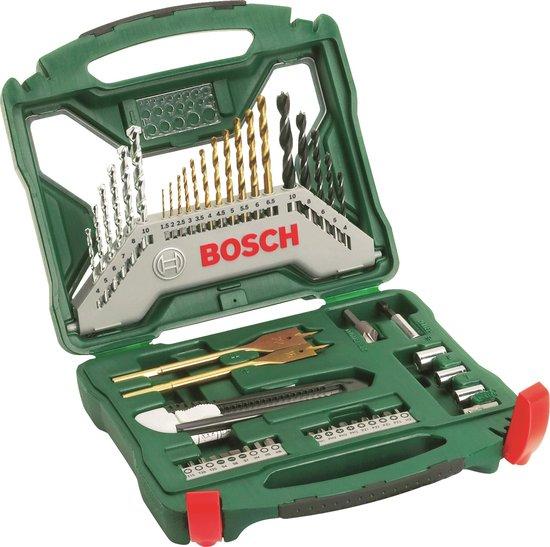 Bosch X-Line borenset - 50-delig - Titanium Plus Serie - geschikt voor alle merken - Bosch accessoire