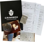 Crimibox: Dossier As - Escape Room Spel - Breinbrekers Gezelschapsspel voor Volwassenen - Interactief Escapemysterie