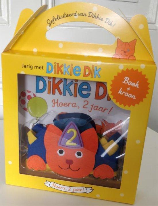 Boek cover Dikkie Dik  -   Jarig met Dikkie Dik - Hoera, 2 jaar! van Jet Boeke (Onbekend)