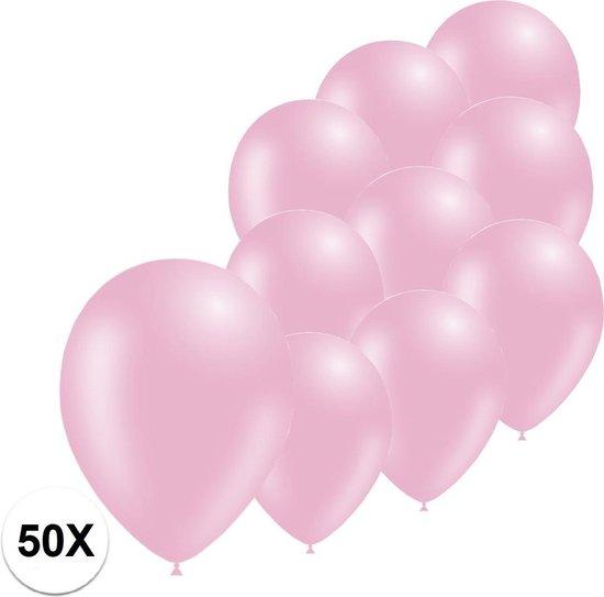 Roze Ballonnen Feestversiering Gender reveal 50 stuks verjaardag Ballon