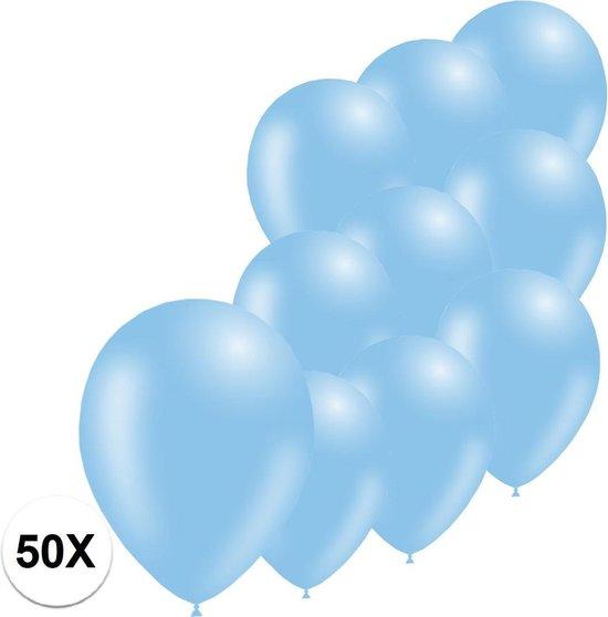 Licht Blauwe Ballonnen Feestversiering Gender Reveal 50st Verjaardag Ballon