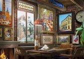 Puzzel 1000 stukjes - Utrechts Cafe - Multi