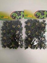 water kunst plantjes - 2 stuks