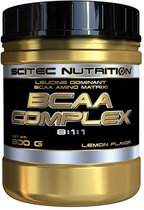 Scitec Nutrition - BCAA Complex - Leucine dominant BCAA amino matrix! - 300 g - 30 porties - poeder - Lemon