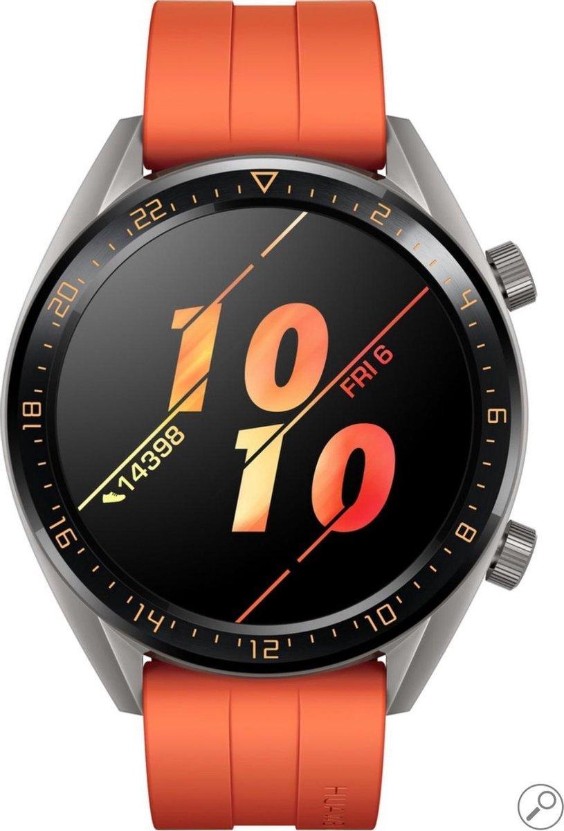Huawei Watch GT Active - Smartwatch - Oranje kopen