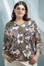 Zhenzi Dames T-shirt Maat EU50
