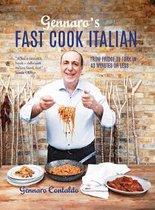 Boek cover Gennaros Fast Cook Italian van Gennaro Contaldo (Hardcover)