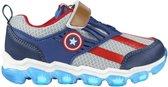 Marvel The Avengers Captain America schoenen met licht kinderen maat 27 bij verkleed pak verkleedkleding