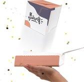 LocoBox - Wenskaarten - Wenskaarten box - Confettiregen - Boom kaart - Out of the Box - Happiness