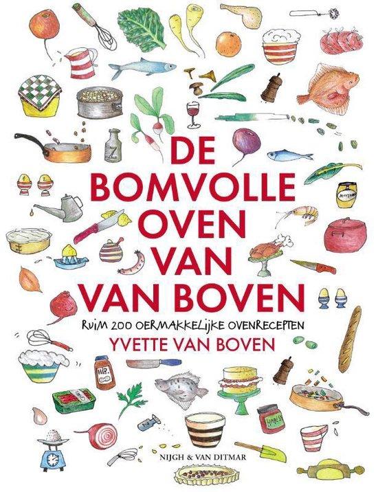 Boek cover De bomvolle oven van Van Boven van YvettevanBoven (Hardcover)