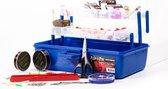 FISH-XPRO Viskoffer Gevuld - Visspullen - Tacklebox - Vishaak - Vislood - Vislijn - Dobbers - Kunstaas - Voerkorf - Werplood - Visschaar