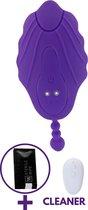 Draagbare Vibrator Met Afstandsbediening - GRATIS TOY CLEANER -  Koppel Vibrator - USB Oplaadbaar - Clitoris Stimulator - Sex Toys - Sexspeeltjes Voor Koppels - Erotiek Toys - G Spot Vibrator - Vibrators Voor Vrouwen - 10 Standen.