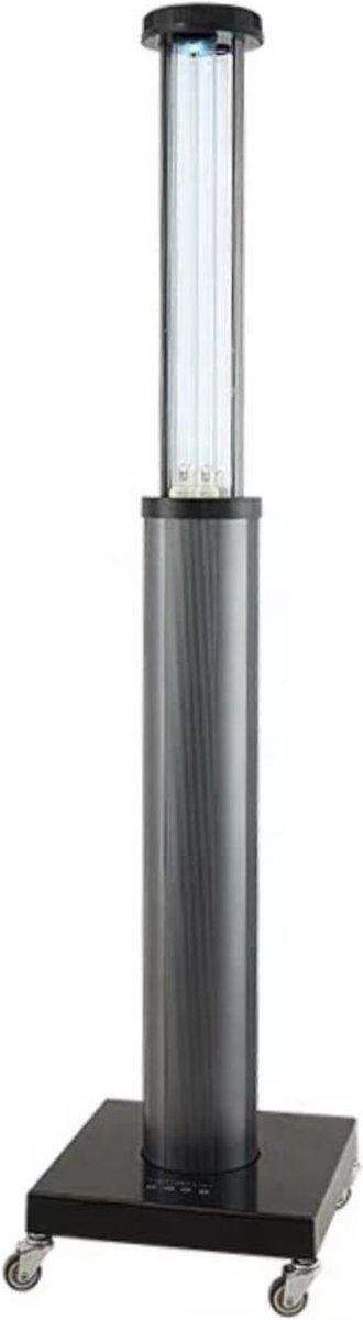 � UV-C Lamp Ozon   Corona Lamp   Desinfectie Sterilisator   Covid Lamp   Remote Control 150w   Mobiel Autom. Uitschuifbaar