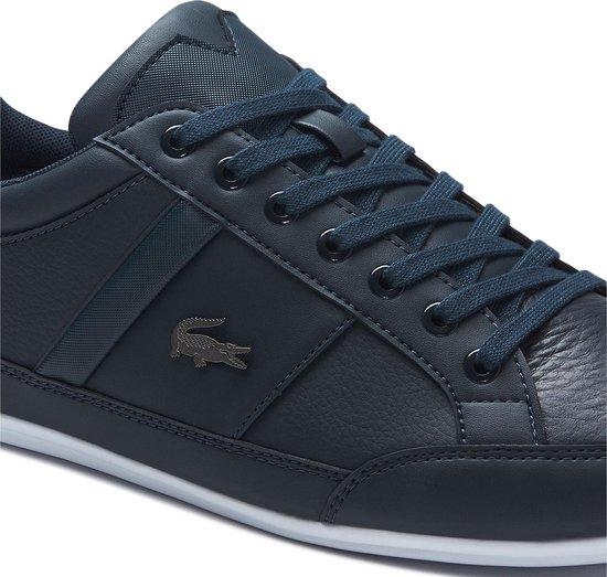 Lacoste Chaymon BL 1 CMA Heren Sneakers - Navy/White - Maat 45
