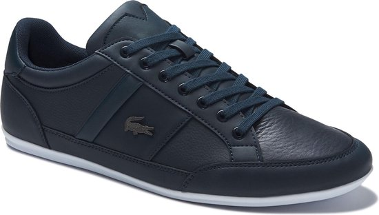 Lacoste Chaymon BL 1 CMA Heren Sneakers - Navy/White - Maat 41