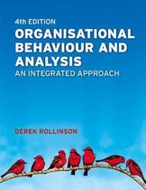 Organisational Behaviour and Analysis