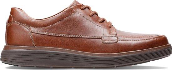 Clarks - Herenschoenen - Un Abode Ease - H - dak tan leather - maat 6,5